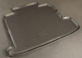Резиновый коврик в багажник Opel Astra H sedan 2007- Unidec