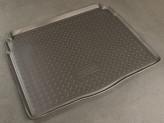 Резиновый коврик в багажник Opel Astra J HB 2010-  Unidec