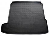 Резиновый коврик в багажник Opel Astra J sedan 2012- (с полноразмерной запаской) Unidec