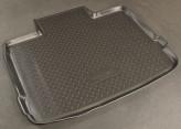 Резиновый коврик в багажник Opel Insignia 2009- (с докаткой) Unidec