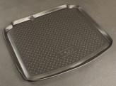 Резиновый коврик в багажник Seat Leon HB 2005-2013 Unidec