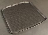 Резиновый коврик в багажник Skoda Fabia WAG 2007-