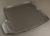 Резиновый коврик в багажник Skoda Octavia A5 HB Unidec