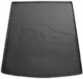 Unidec Резиновый коврик в багажник Skoda Superb Combi 2008-