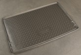 Резиновый коврик в багажник Skoda Yeti 2009- Unidec