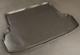 Резиновый коврик в багажник Subaru Impreza sedan 2007- Unidec