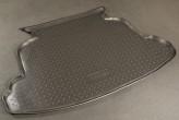 Резиновый коврик в багажник Toyota Corolla sedan 2002-2007 Unidec
