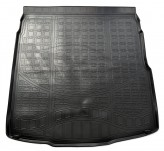 Резиновый коврик в багажник Volkswagen Passat B8 sedan 2015- Unidec