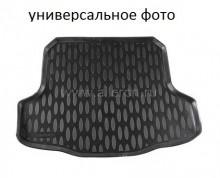 Резиновый коврик в багажник Mitsubishi Outlander 2012- (с органайзером) Aileron