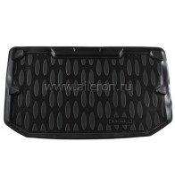 Резиновый коврик в багажник Nissan Note Aileron
