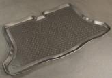 Резиновый коврик в багажник Nissan Tiida HB 2007- Unidec