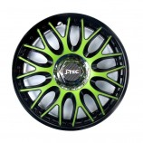 J-TEC (Jacky Auto Sport) Колпаки Orden Green-Black R14
