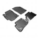 Резиновые коврики Hyundai Accent  2006-2010