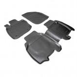 Резиновые коврики Honda Civic 2005-2012 (5 двери) Unidec