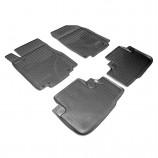 Резиновые коврики Honda CR-V 2012- Unidec