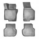 Резиновые коврики Volkswagen Jetta 2014- БЕЖЕВЫЕ