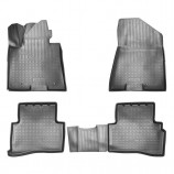 Резиновые коврики Kia Sportage 3D 2015- Unidec