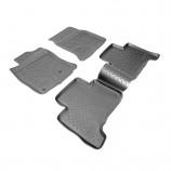 Резиновые коврики Toyota Land Cruiser 120 Unidec