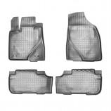 Резиновые коврики Toyota Highlander 2013- (5 мест)