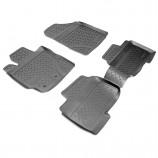 Unidec Резиновые коврики Toyota Yaris 2006-2011