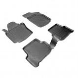Резиновые коврики Seat Toledo 2004-2009 Unidec