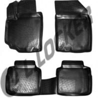 Глубокие резиновые коврики в салон Suzuki SX4 13- L.Locker