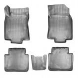 Резиновые коврики Nissan X-Trail (T32) 3D 2014- Unidec