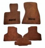 Beltex Коврики в салон для BMW F15 2013- текстильные коричневые (Premium)