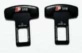 Заглушки ремня безопасности S-line