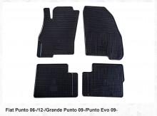 Stingray Резиновые коврики Fiat Punto Grande Punto Punto Evo