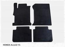 Резиновые коврики Honda Accord 13- Stingray