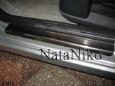 Nataniko Накладки на пороги Citroen C4 5D 2004-2010 (PREMIUM)