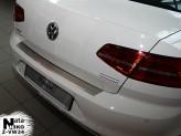 Nataniko Накладка на бампер с загибом VW Passat B8 sedan
