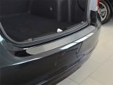 Накладка на бампер Volkswagen Passat B7 Variant
