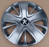 Колпаки Peugeot 428 R16 (Комплект 4 шт.) SKS (с эмблемой)