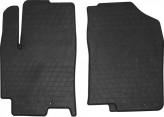 Резиновые коврики Hyundai Accent 2017- передние Stingray