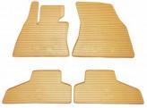 Stingray Резиновые коврики BMW X5 E70 X6 E71 бежевые