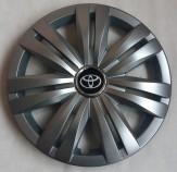 Колпаки Toyota 427 R16 (Комплект 4 шт.) SKS (с эмблемой)