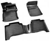 Глубокие резиновые коврики Land Cruiser Prado 120 Lexus GX 470 AvtoDriver
