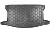 Резиновый коврик в багажник Toyota Yaris 2011- (верхний) Avto Gumm