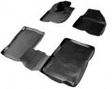 Глубокие резиновые коврики в салон Ford Explorer 2010-