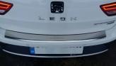 Накладка на бампер с загибом SEAT Leon 2013- 5D ST X-Perience