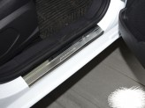 Nataniko Накладки на пороги Mitsubishi L200 2015- (Premium)