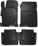 Резиновые коврики Honda Acсord 9 2016- USA AvtoGumm