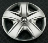 Колпаки Hyundai 500 R17 (Комплект 4 шт.) SKS (с эмблемой)