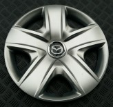 Колпаки Mazda 500 R17 (Комплект 4 шт.) SKS (с эмблемой)