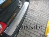 Nataniko Накладка на бампер Volkswagen Passat B6 Sedan