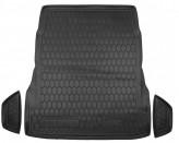 Резиновый коврик в багажник Mercedes S-class W222 (без регулировки сидений) Avto Gumm