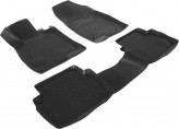L.Locker Глубокие резиновые коврики в салон Mazda 3 2013-