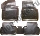 Глубокие резиновые коврики в салон Land Rover Discovery Sport 2014-